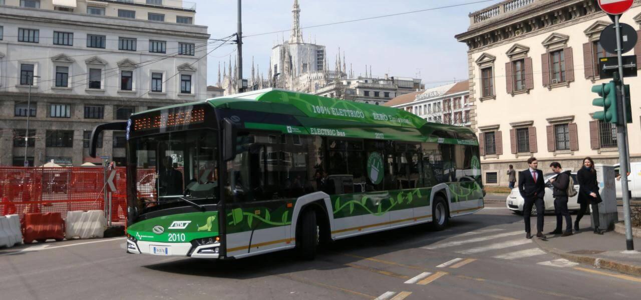 Autobus elettrico Atm