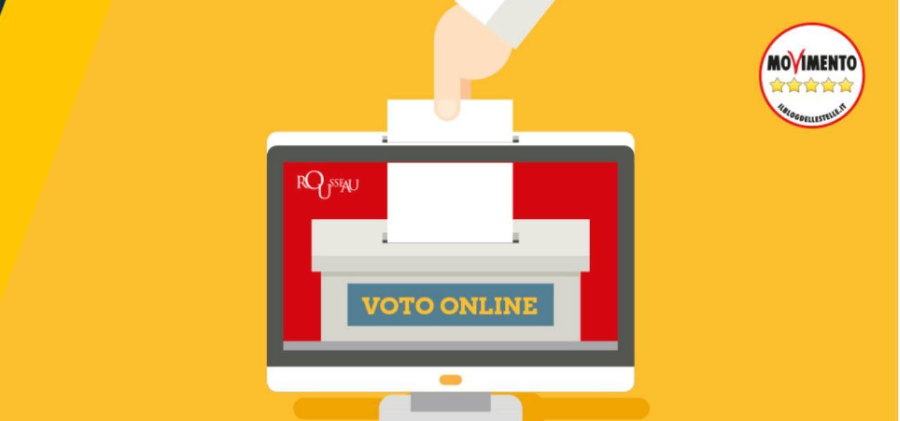 Voto online M5s su Rousseau