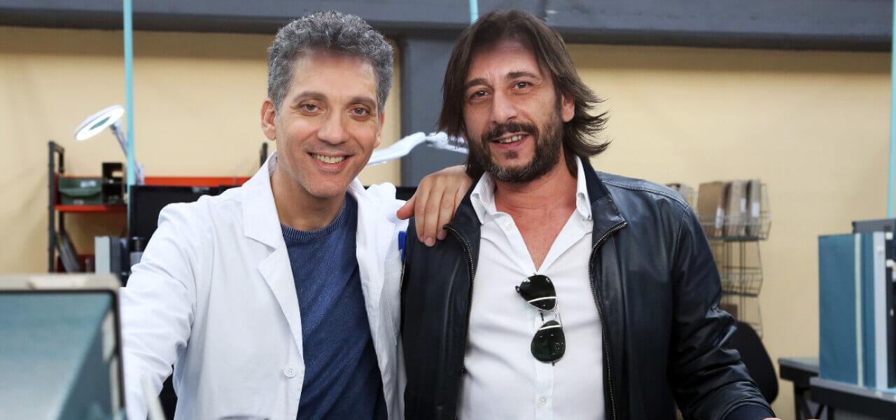 Beppe Fiorello ed Enzo Muscia