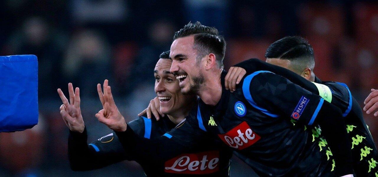 Callejon Fabian Napoli Zurigo lapresse 2019