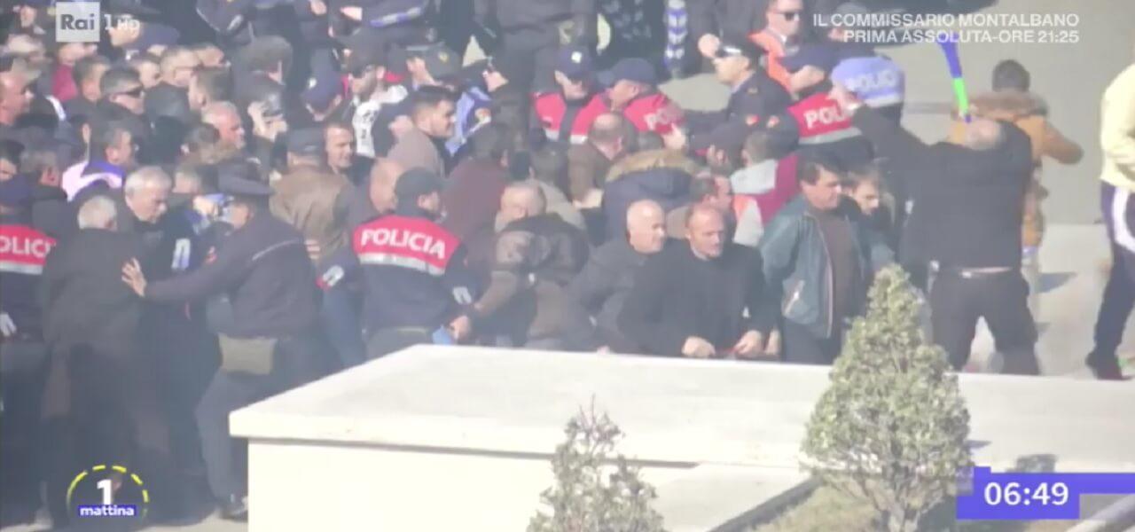 Albania, scontri a Tirana