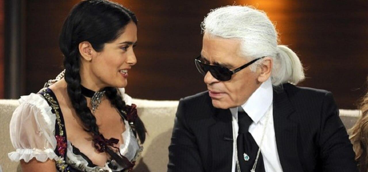 Karl Lagerfeld screen