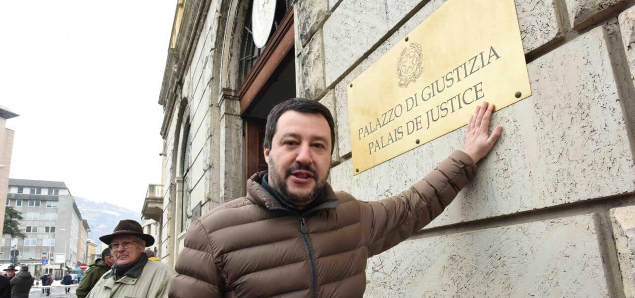 Salvini ad Aosta