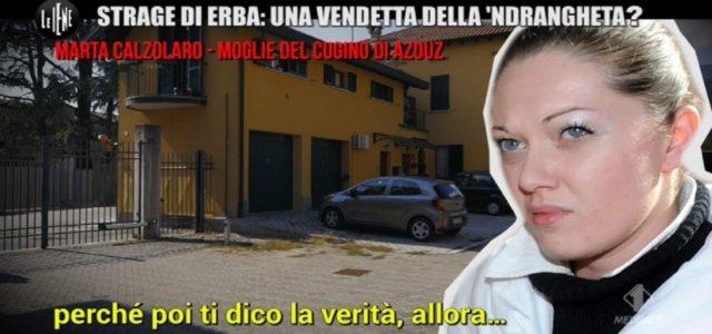 Strage di Erba, la testimonianza di Marta Calzolaro