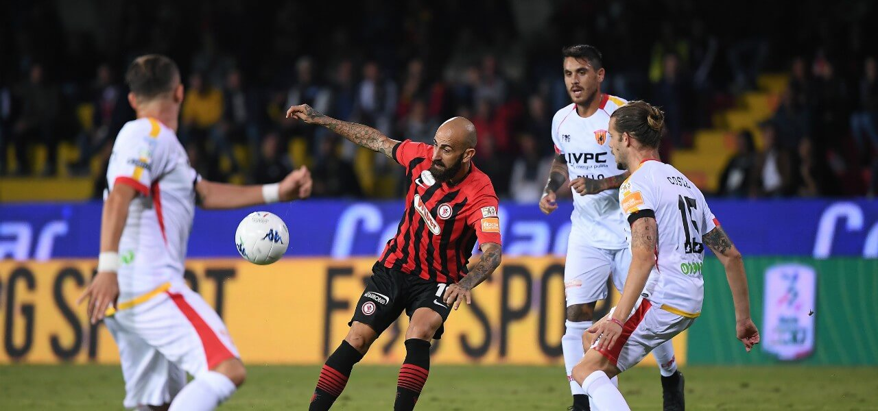 Mazzeo Foggia Benevento lapresse 2019