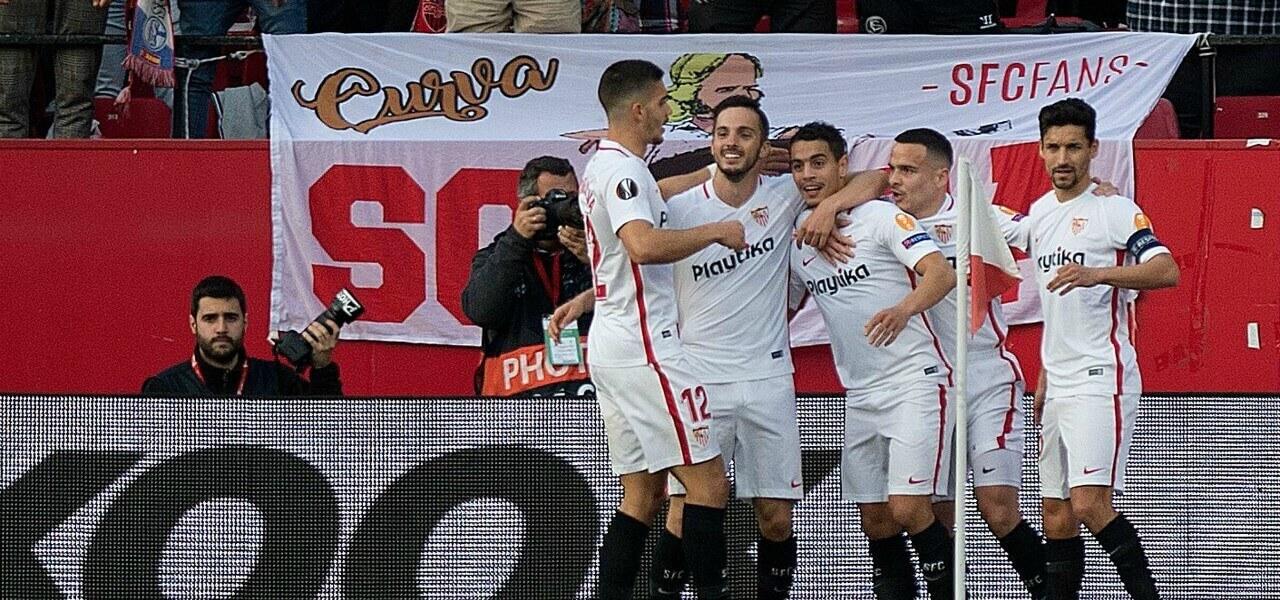 Siviglia Lazio gol Ben Yedder lapresse 2019