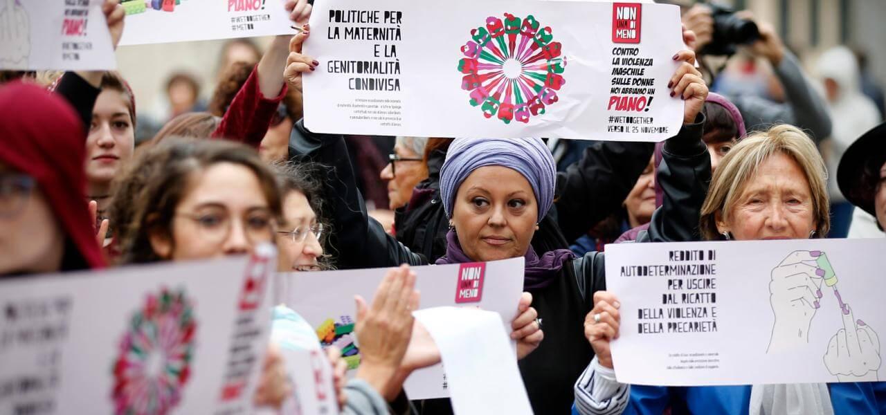 Femministe in protesta