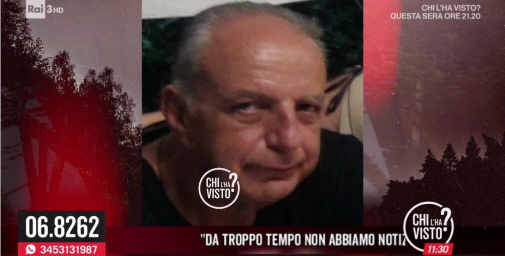 Gianni Bergamino scomparso da Chiavari