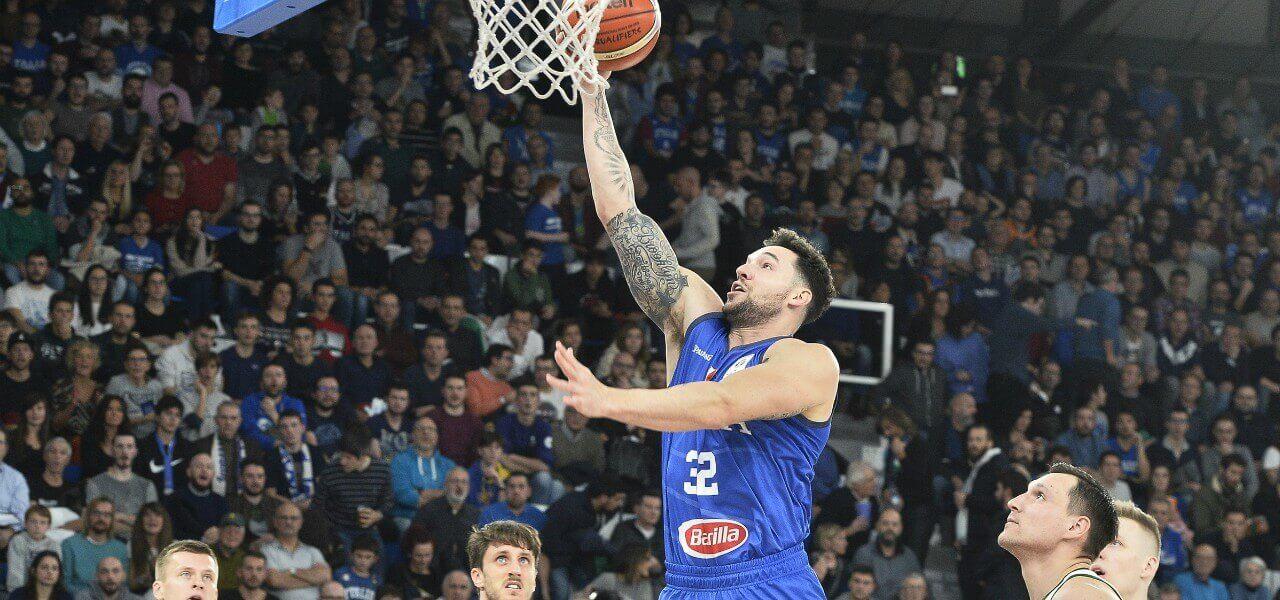 Christian Burns Italia basket lapresse 2019