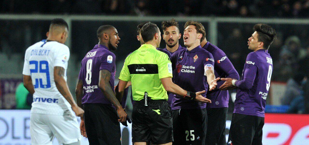 Chiesa proteste Fiorentina Inter lapresse 2019