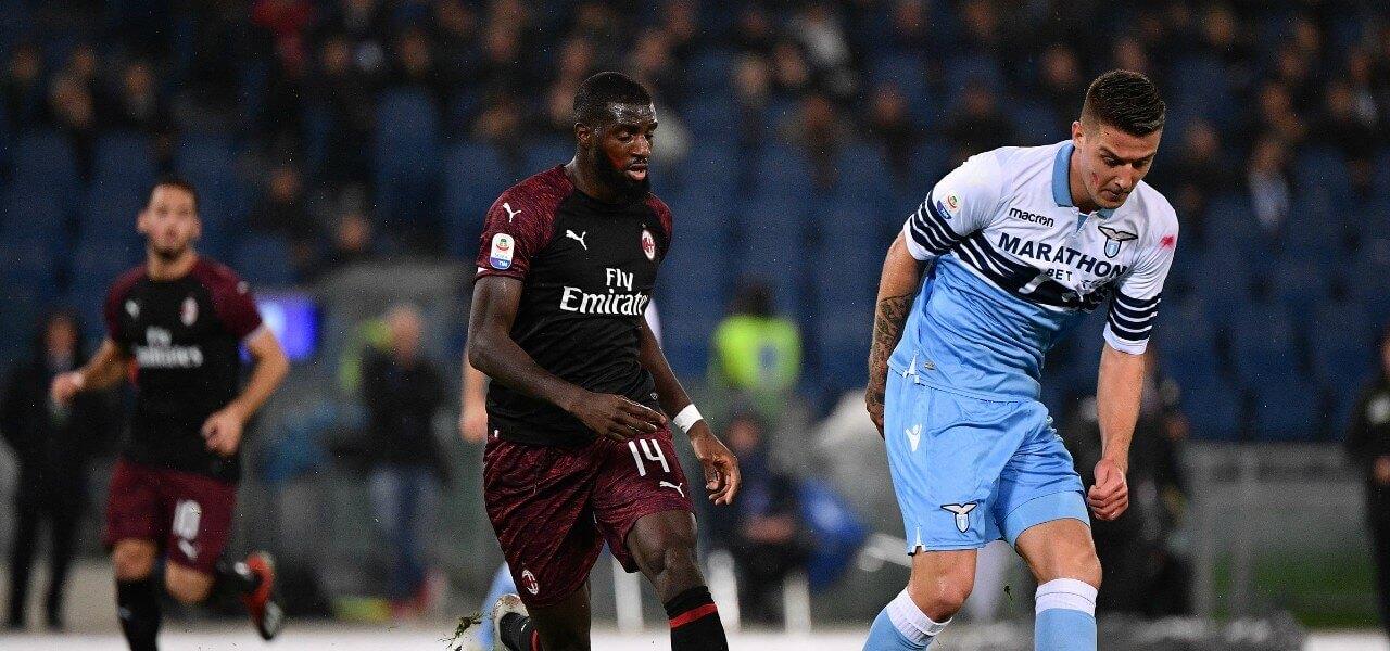 Milinkovic Bakayoko Lazio Milan lapresse 2019