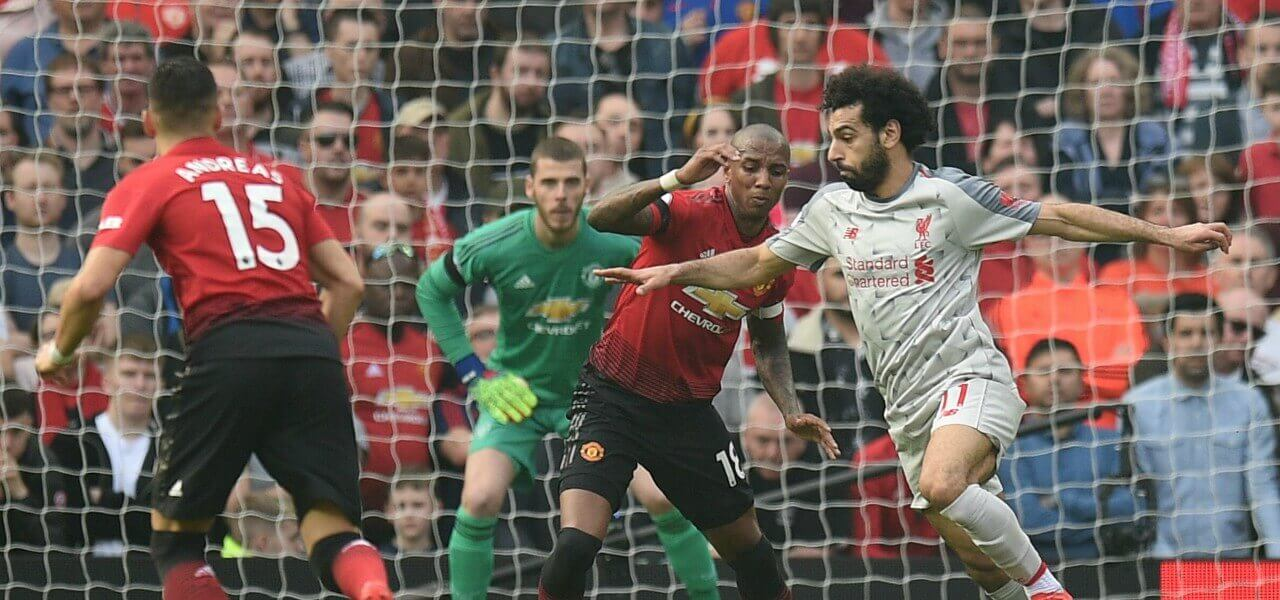 Salah Young Liverpool Manchester United lapresse 2019