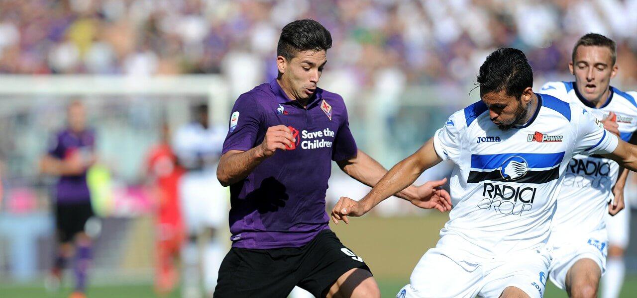 Simeone Palomino Fiorentina Atalanta lapresse 2019