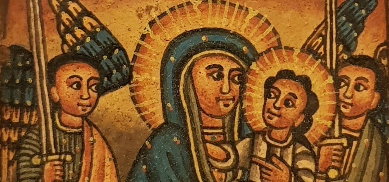 cristianesimo etiopia icona madonna arte1280