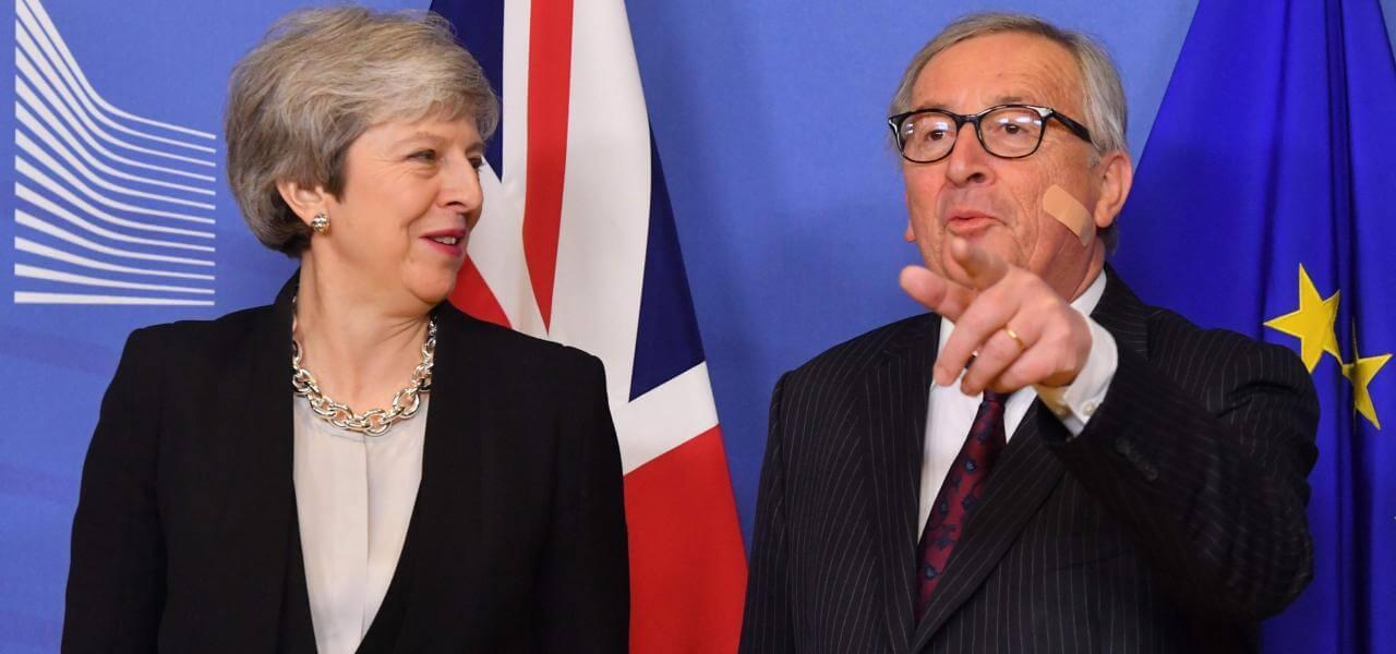 Brexit, May e Juncker