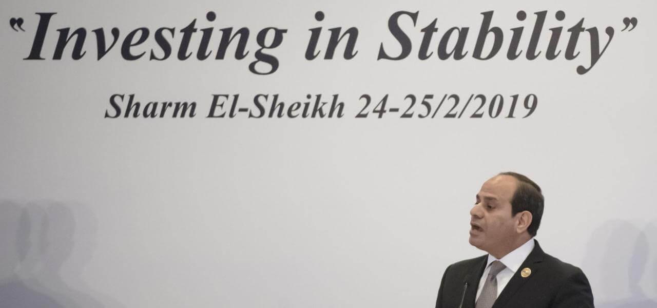Presidente Egitto Al Sisi