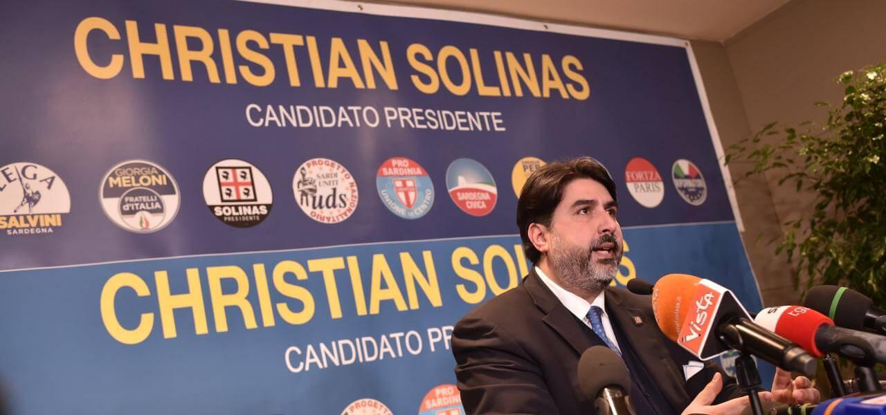 Christian Solinas, Sardegna