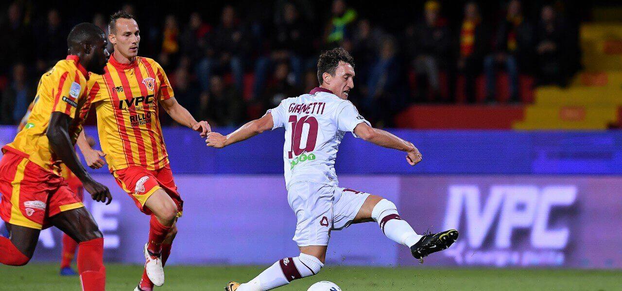 Giannetti Volta Livorno Benevento lapresse 2019