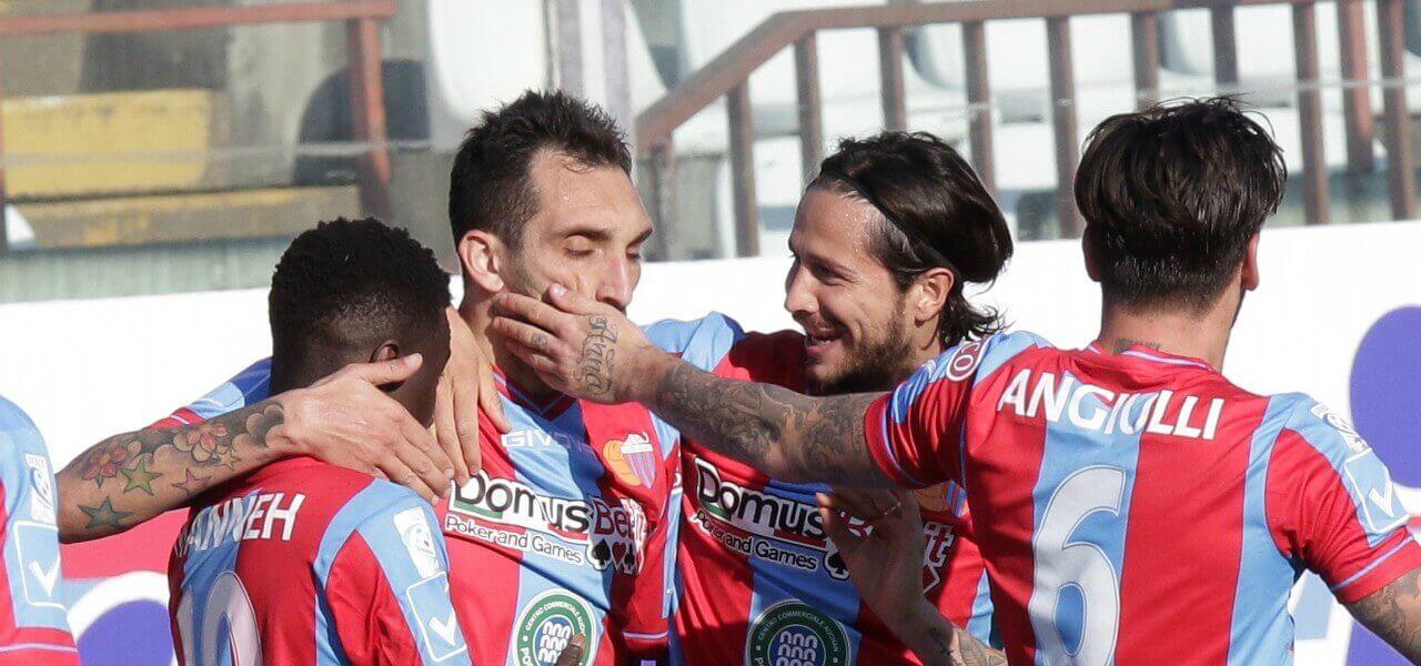 Manneh Lodi Biagianti Angiulli Catania gol lapresse 2019