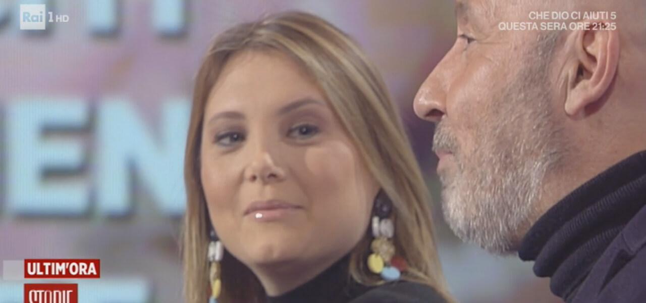 Battista e la moglie Moretti ospiti a Storie Italiane