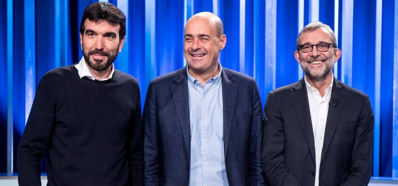 Primarie Pd, i tre candidati