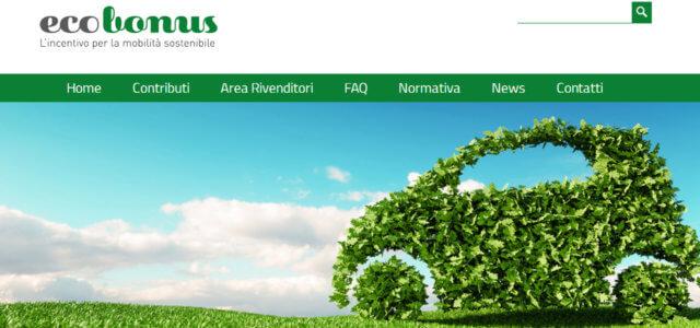 Il sito dell'Ecobonus online da oggi