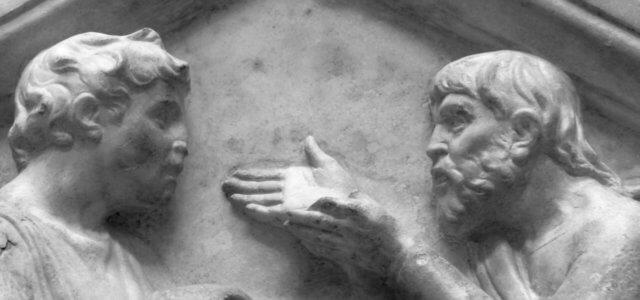 lucadellarobbia aristotele platone arte1280 640x300