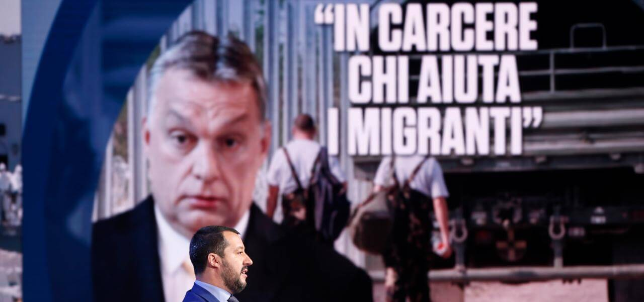 Salvini e Orban