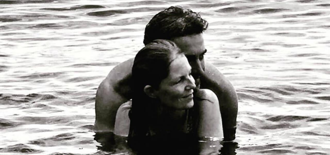 Marina La Rosa e il marito Guido Bellitti (Instagram)