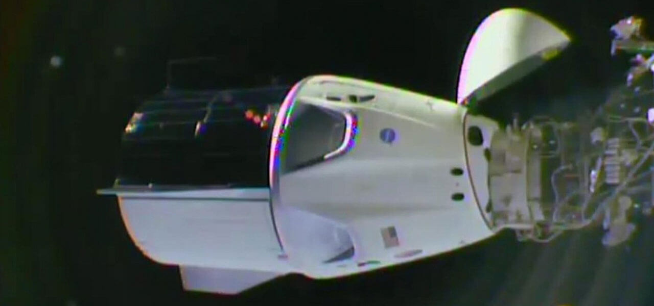 Crew Dragon, la capsula di Space X