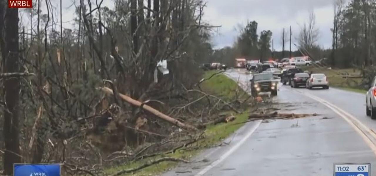 Tornado in Alabama