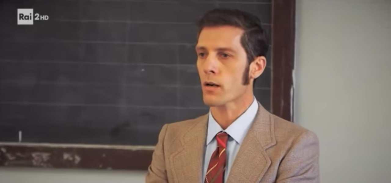 Andrea Maggi, professore del Collegio su Rai 2
