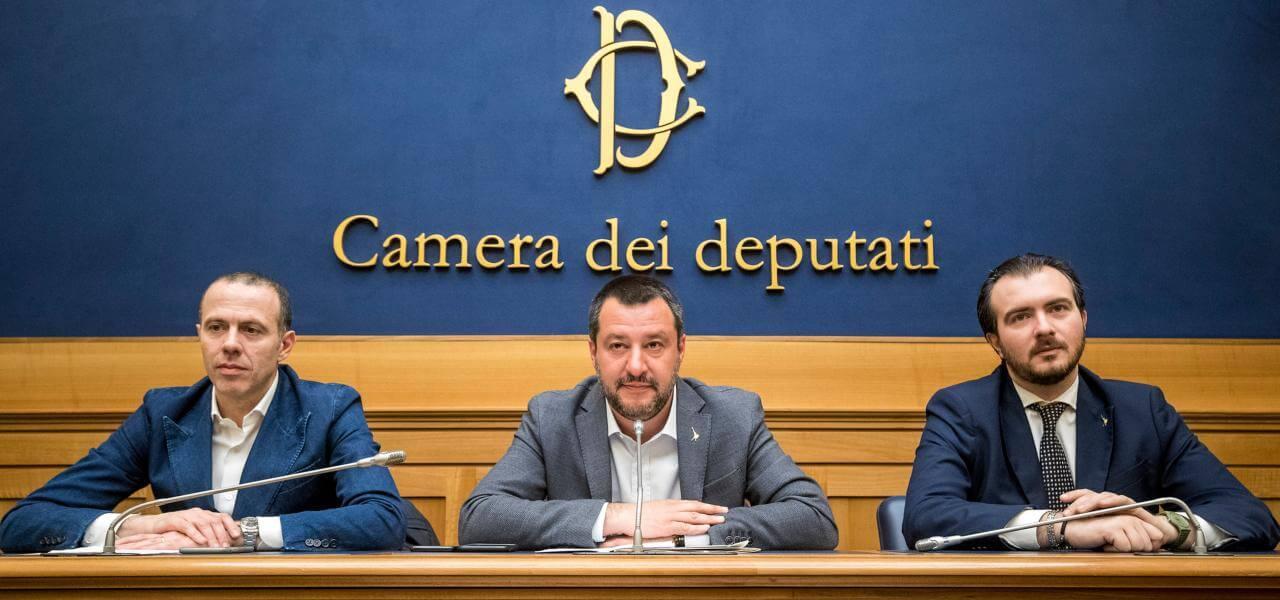 Romeo, Salvini e Molinari