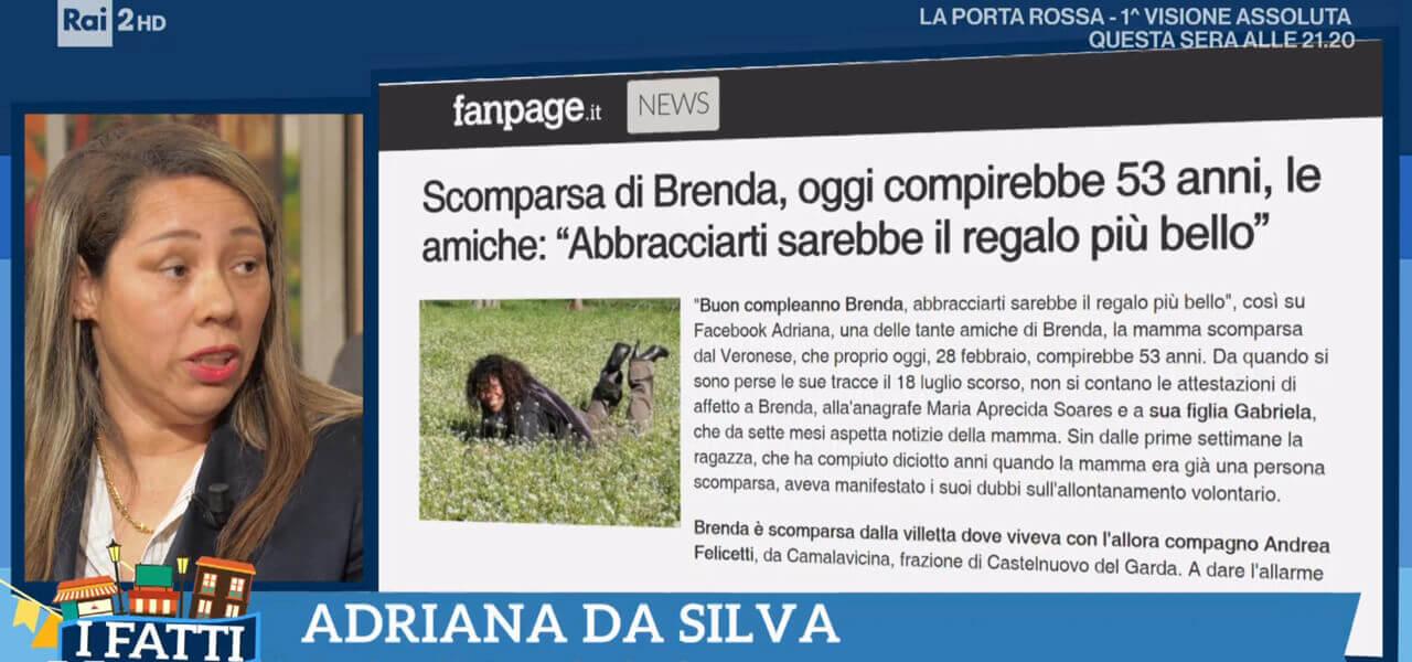 Brenda, scomparsa da Verona