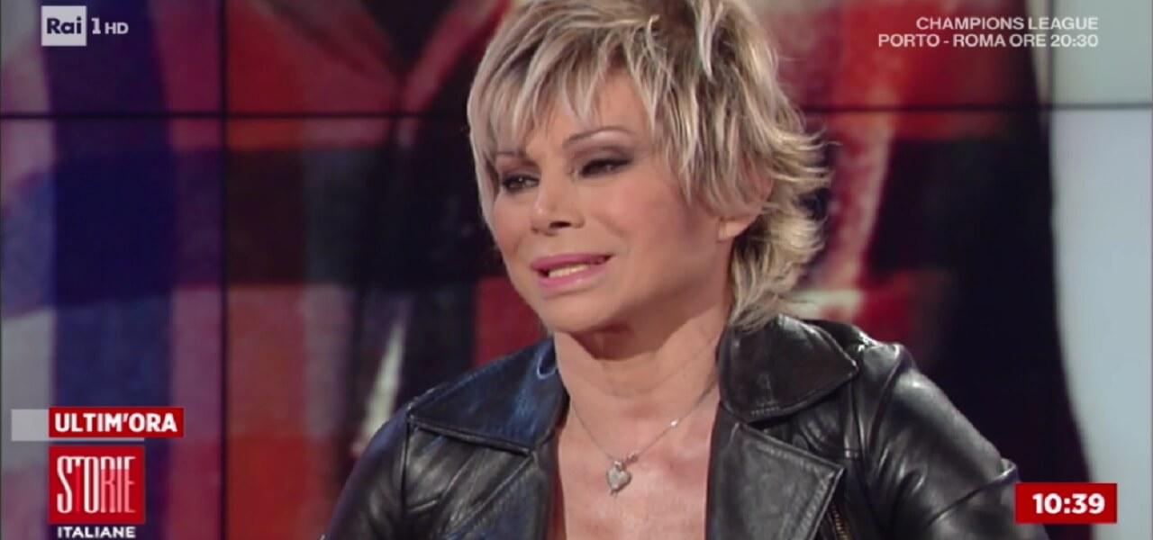 Carmen Russo a Storie Italiane