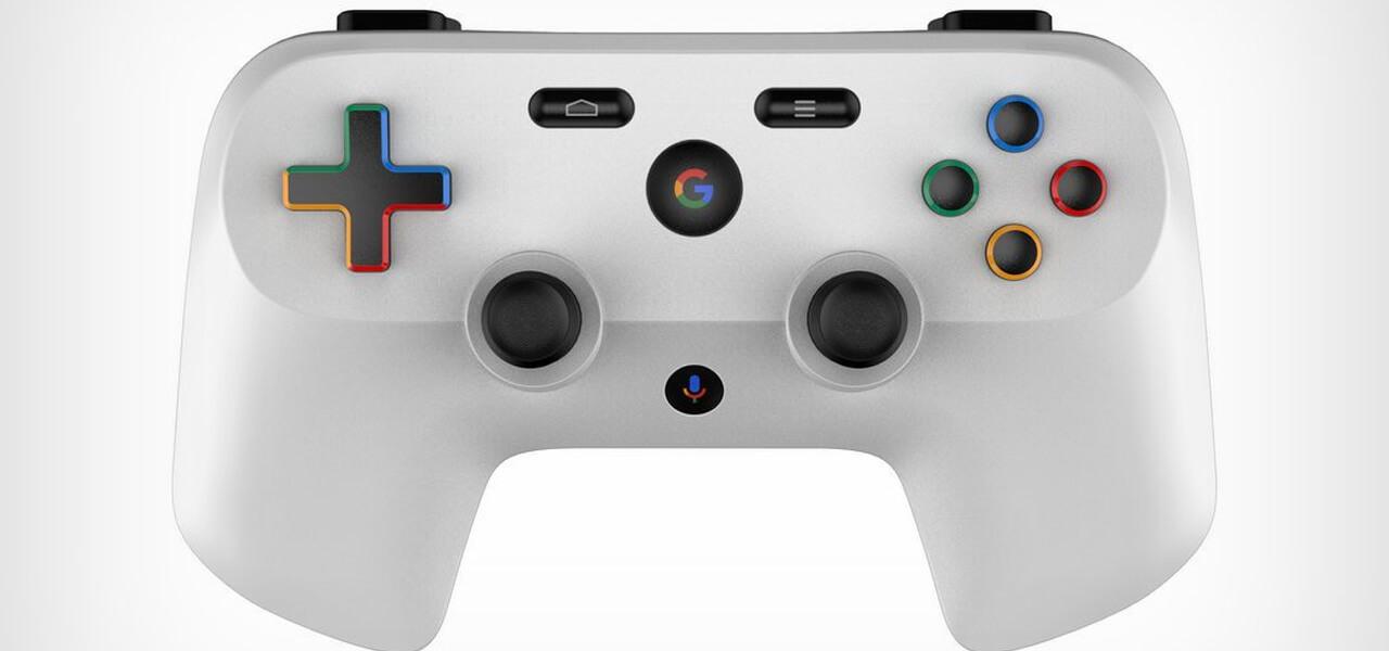 Il joypad di Google Yeti, nuova console