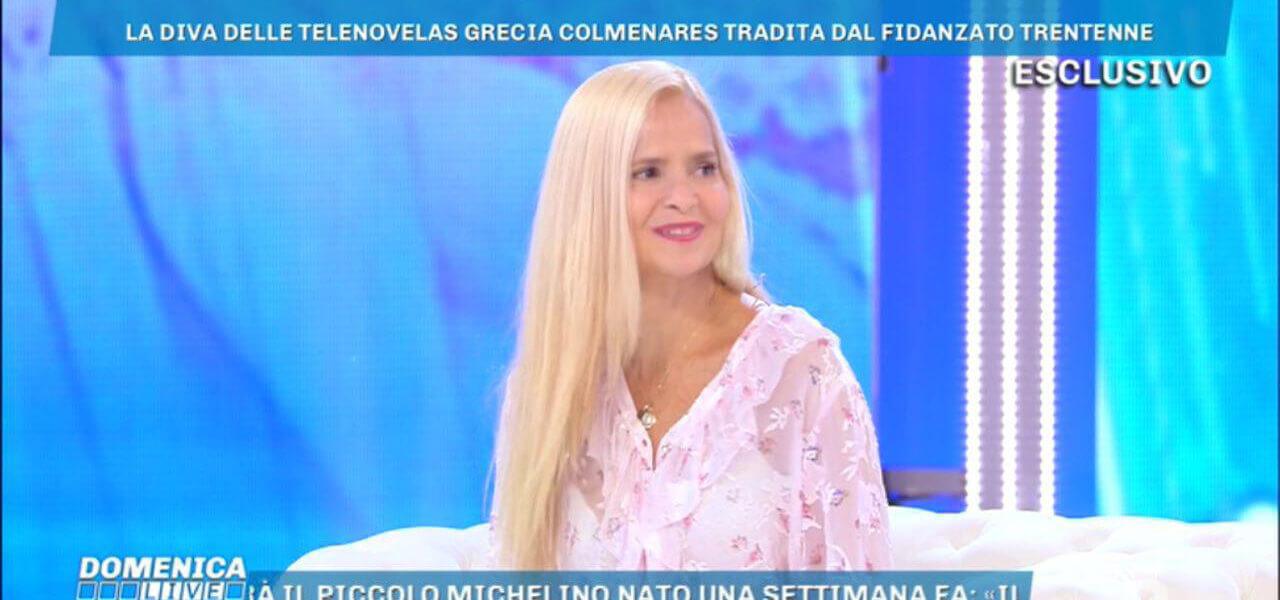 Grecia Colmenares a Domenica Live