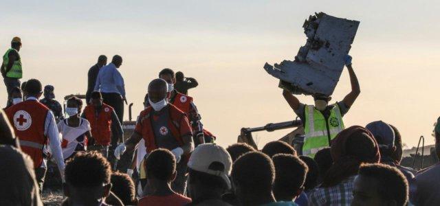 Aereo caduto in Etiopia