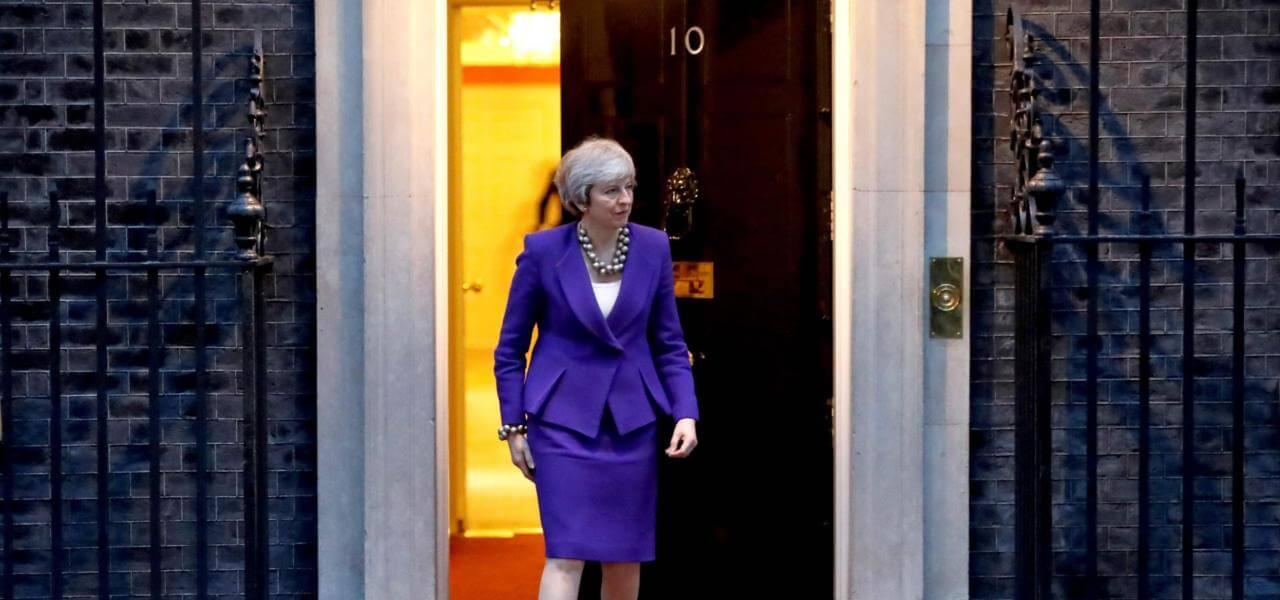 La May a Downing Street