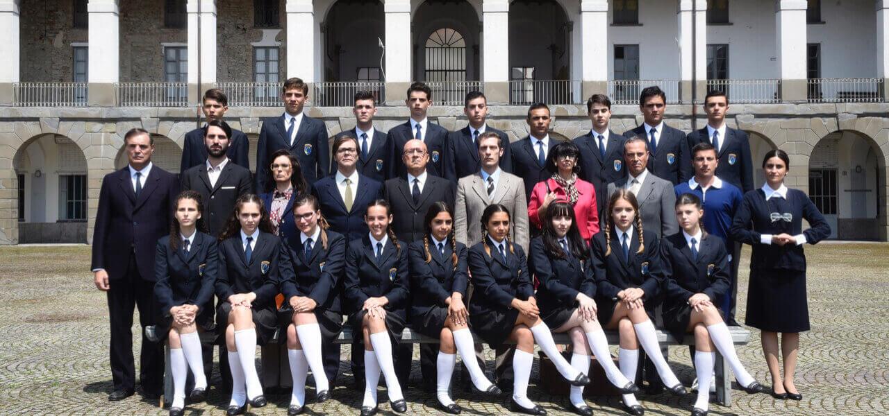 Il cast de Il collegio 3
