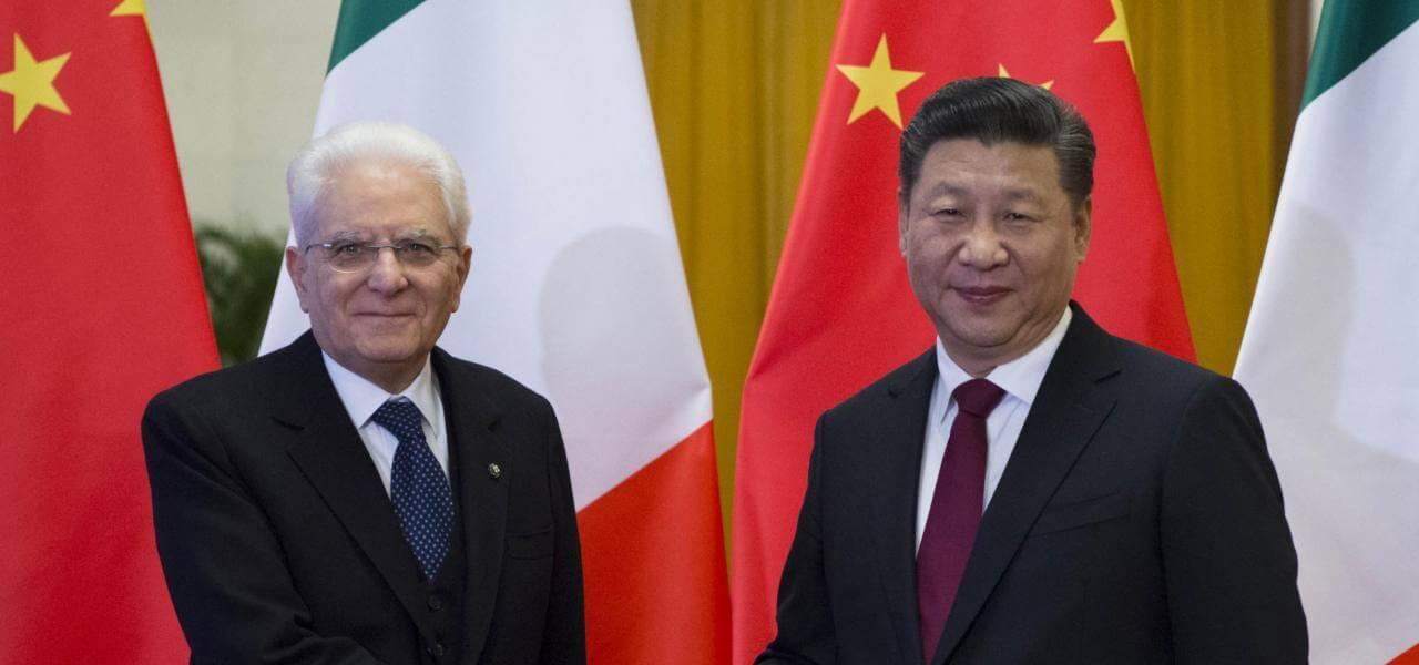 Italia-Cina, Mattarella con Xi Jinping