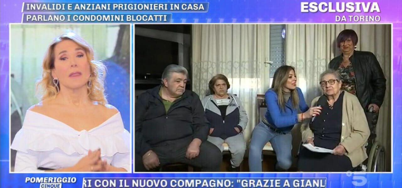 Anziani prigionieri in casa
