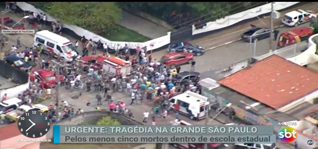 sparatoria brasile san paolo