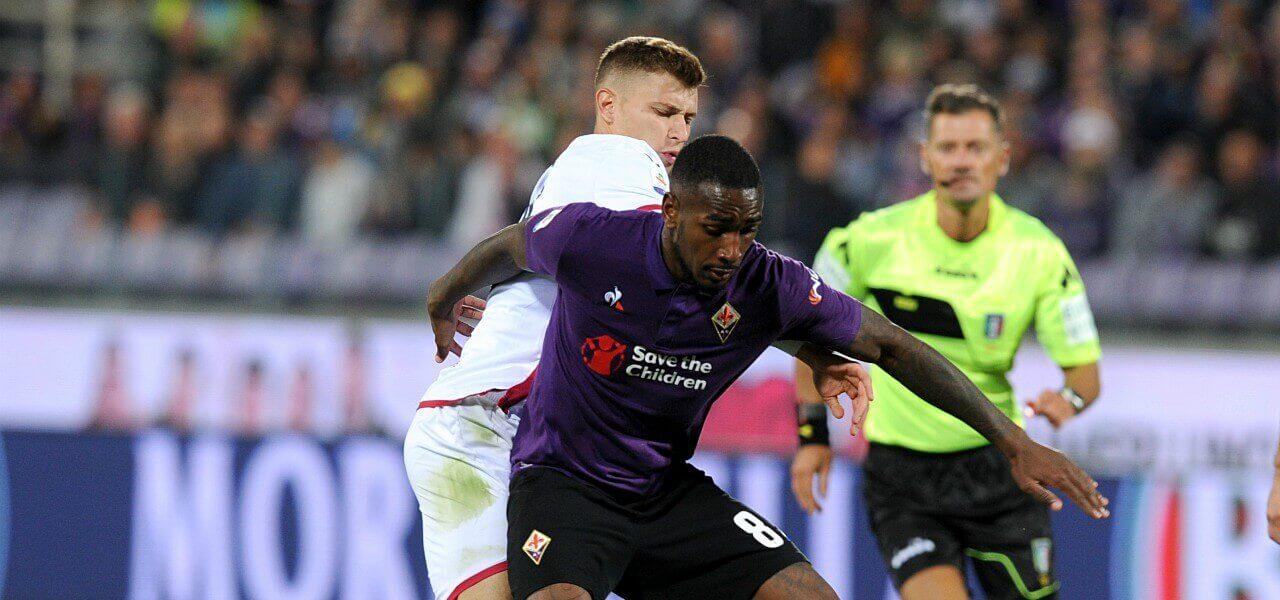 Gerson Barella Fiorentina Cagliari lapresse 2019