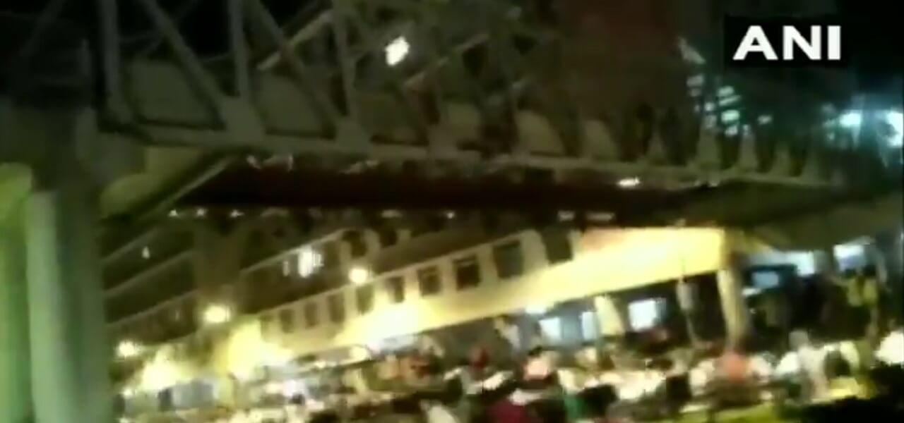 crollo ponte india