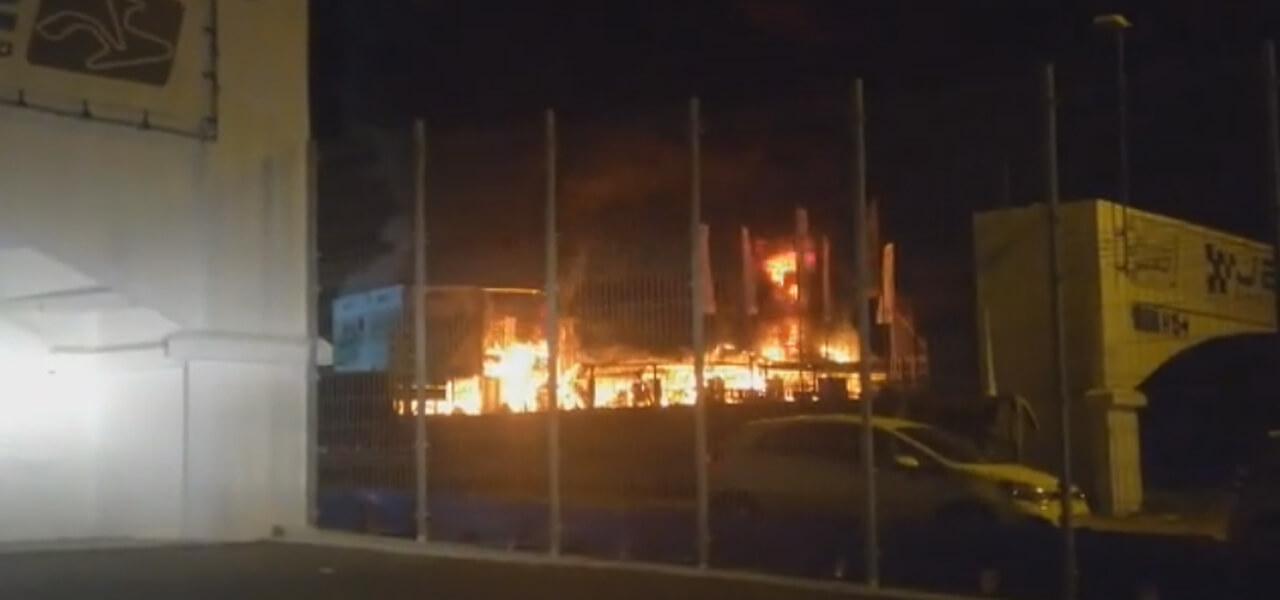Incendio Jerez, MotoE