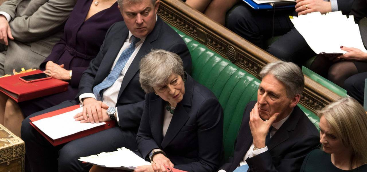 Premier May a Westminster
