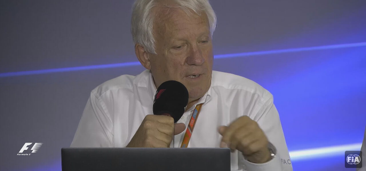 Charlie Whiting, morto a 66 anni