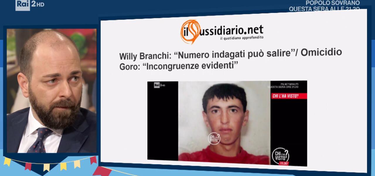 Avv. Simone Bianchi, legale famiglia Willy Branchi