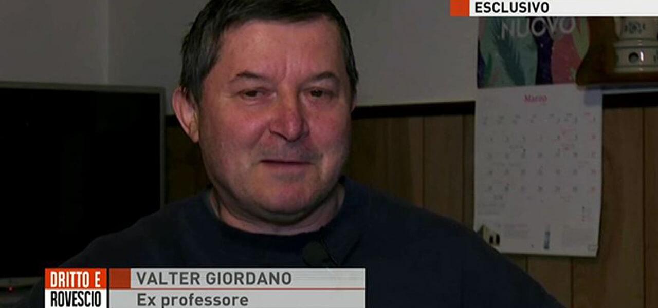 Valter Giordano, ex prof di Saluzzo
